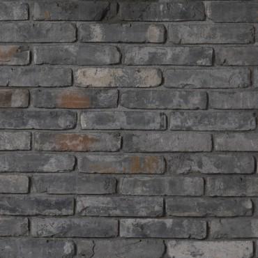 Brique VINTAGE ancienne ton anthracite