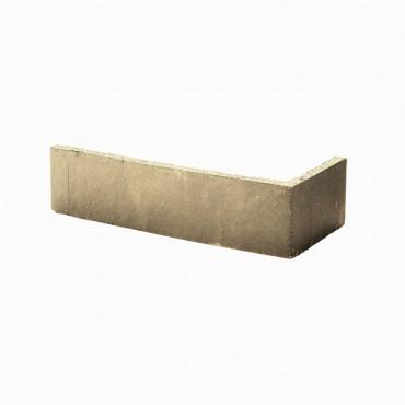 Angles de brique CHROMA lisse ton marron clair