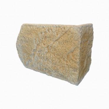 Angles MANOIR ton terre de Sienne H25 cm